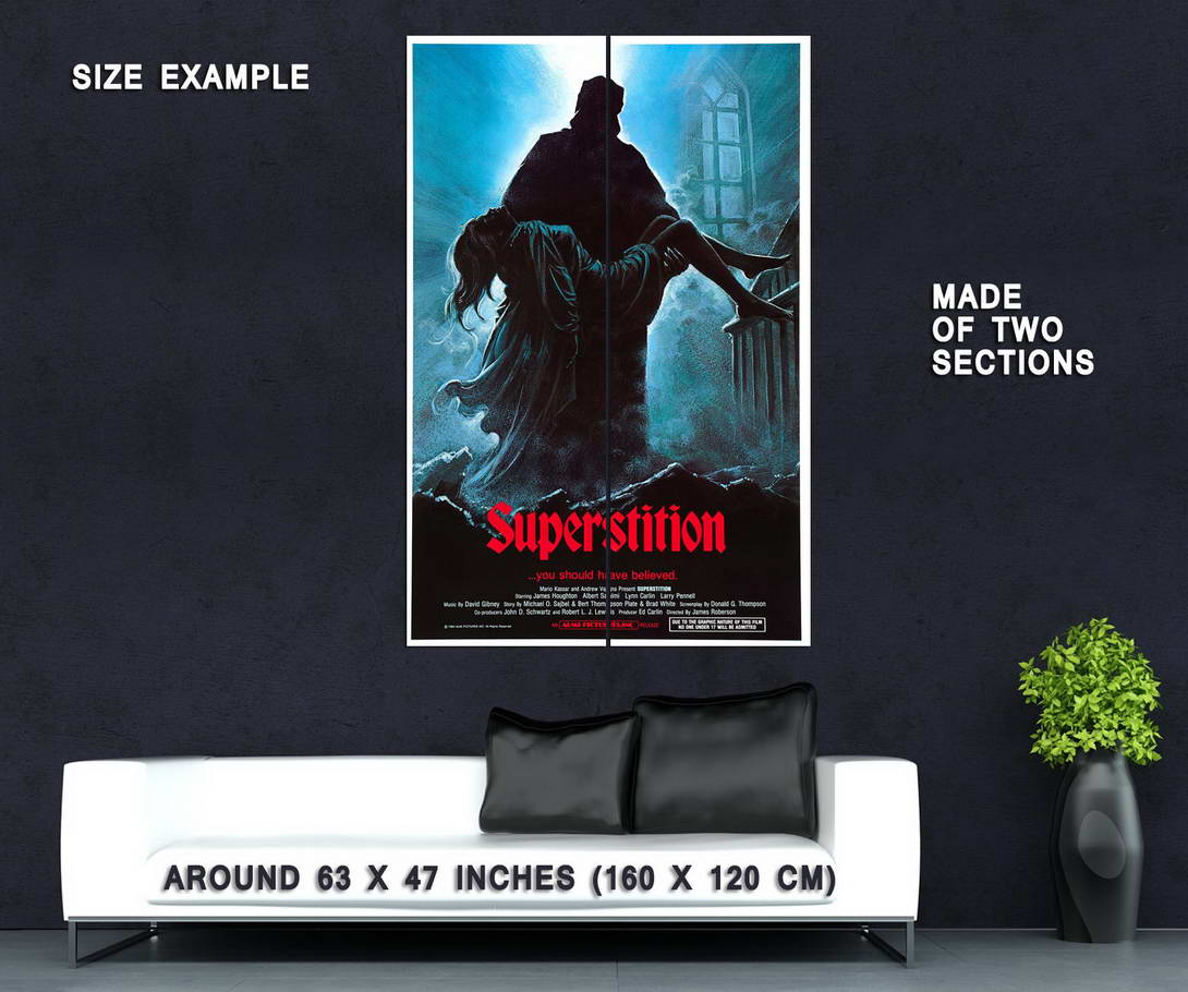 72737-SUPERSTITION-Movie-RARE-Horror-Wall-Print-Poster-Affiche