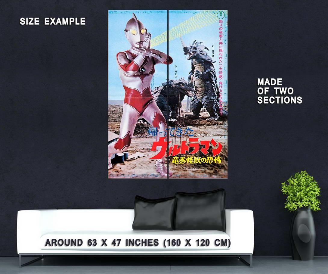 72819-Return-of-Ultraman-TV-Series-1971-1972-Sci-Fi-Wall-Print-Poster-Affiche