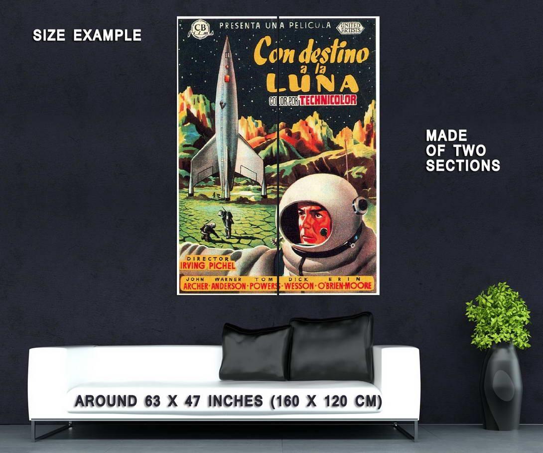 72873-DESTINATION-MOON-Movie-1950-Sci-Fi-Apollo-13-Wall-Print-Poster-Affiche