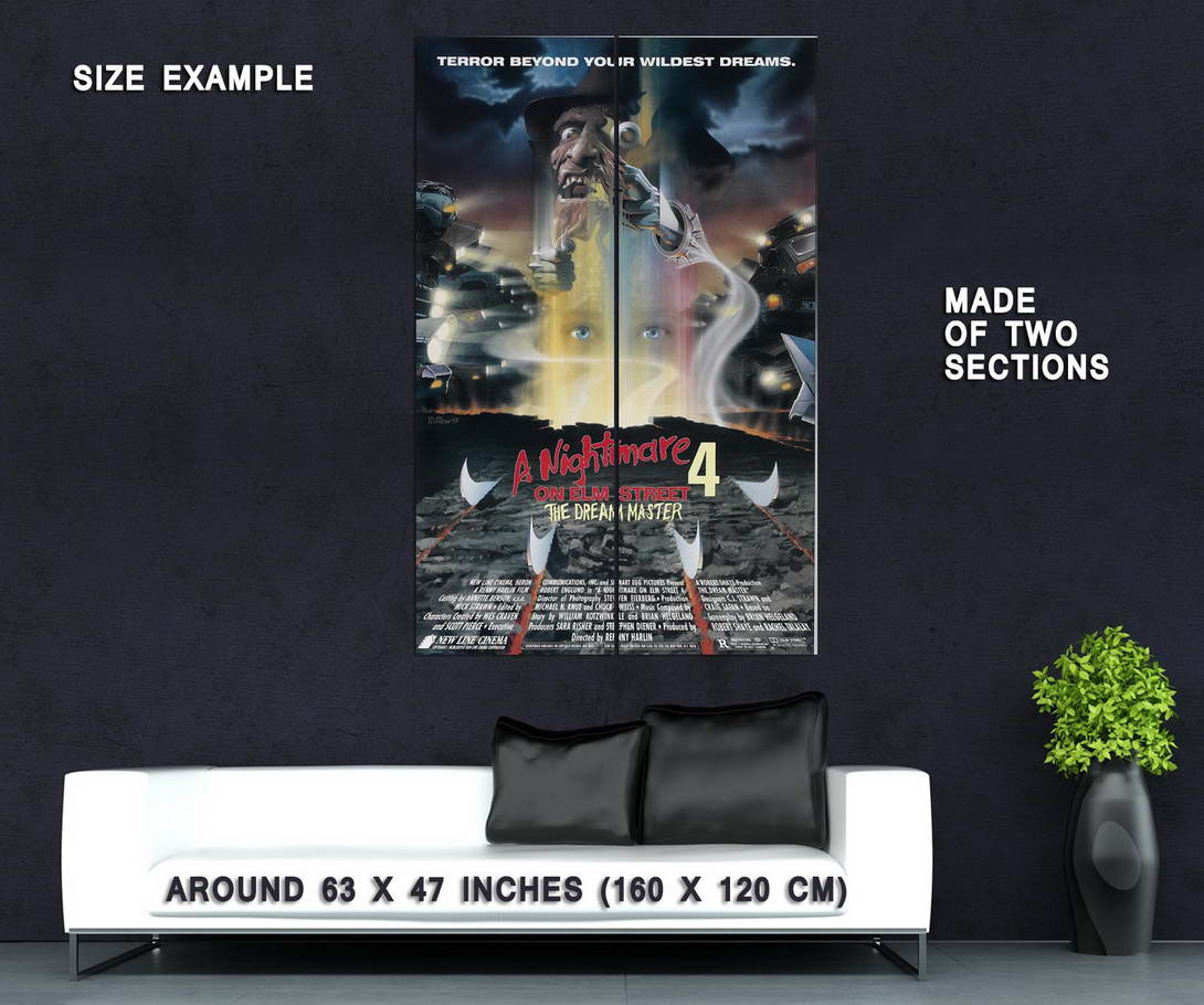 72915-A-NIGHTMARE-ON-ELM-STREET-DREAM-MASTER-Wall-Print-Poster-Affiche