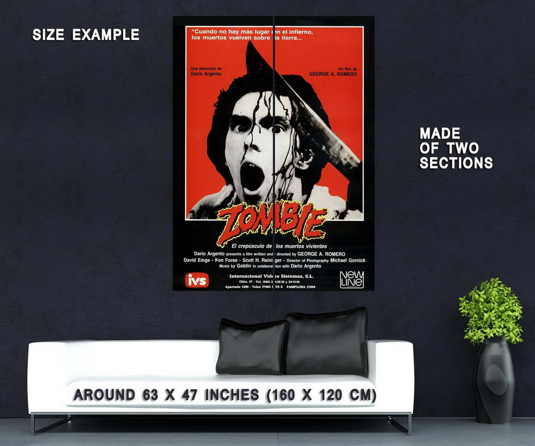 73023-DAWN-OF-THE-DEAD-Movie-George-Romero-Zombies-Wall-Print-Poster-Affiche