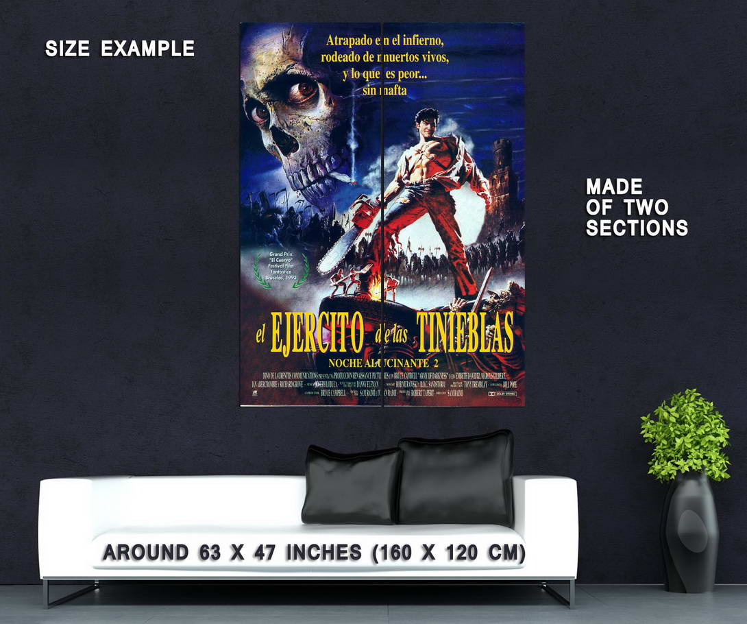 73079-ARMY-OF-DARKNESS-Movie-Evil-Dead-Wall-Print-Poster-Affiche