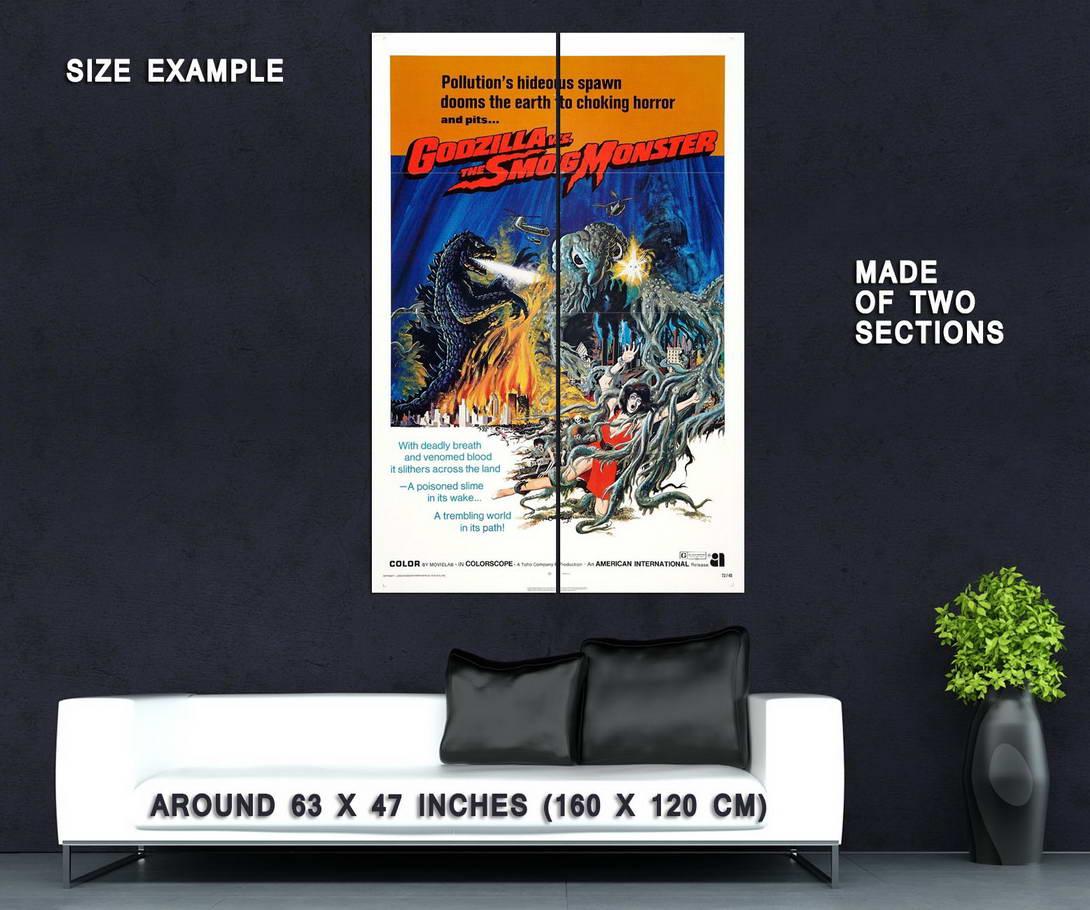 73123-Godzilla-vs-Hedorah-Movie-1971-Cult-Horror-Wall-Print-Poster-Affiche