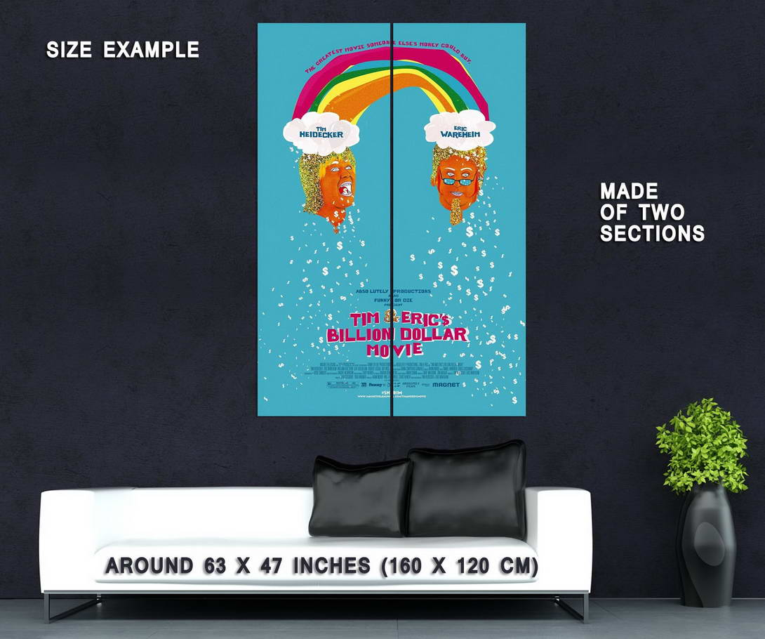 73147-TIM-AND-ERIC-BILLION-DOLLAR-Comedy-Adult-Swim-Wall-Print-Poster-Affiche