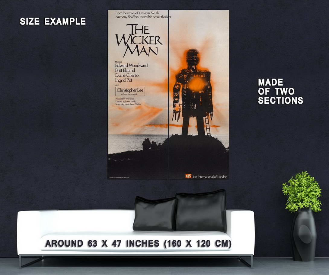 73191-The-Wicker-Man-Movie-1973-Thriller-Mystery-Wall-Print-Poster-Affiche