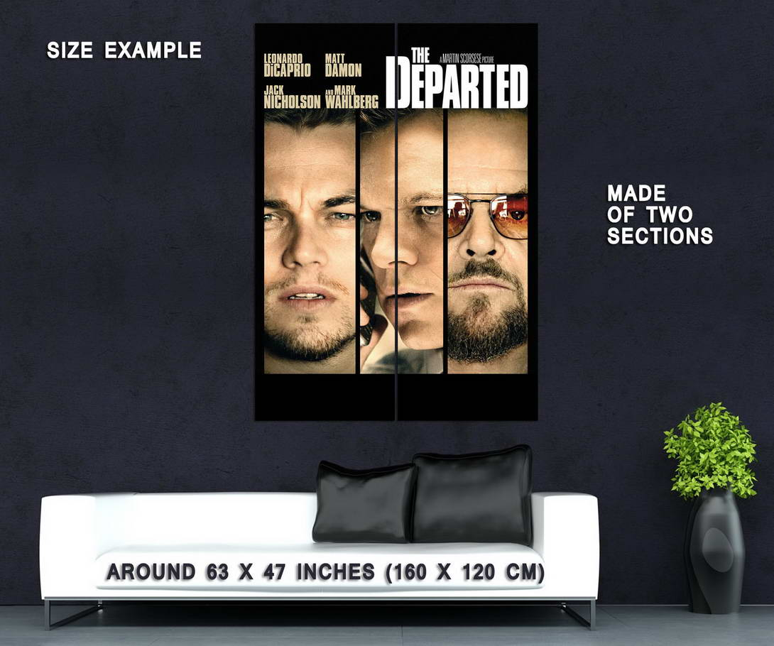 73267-THE-DEPARTED-Martin-Scorsese-Leonardo-DiCaprio-Wall-Print-Poster-Affiche
