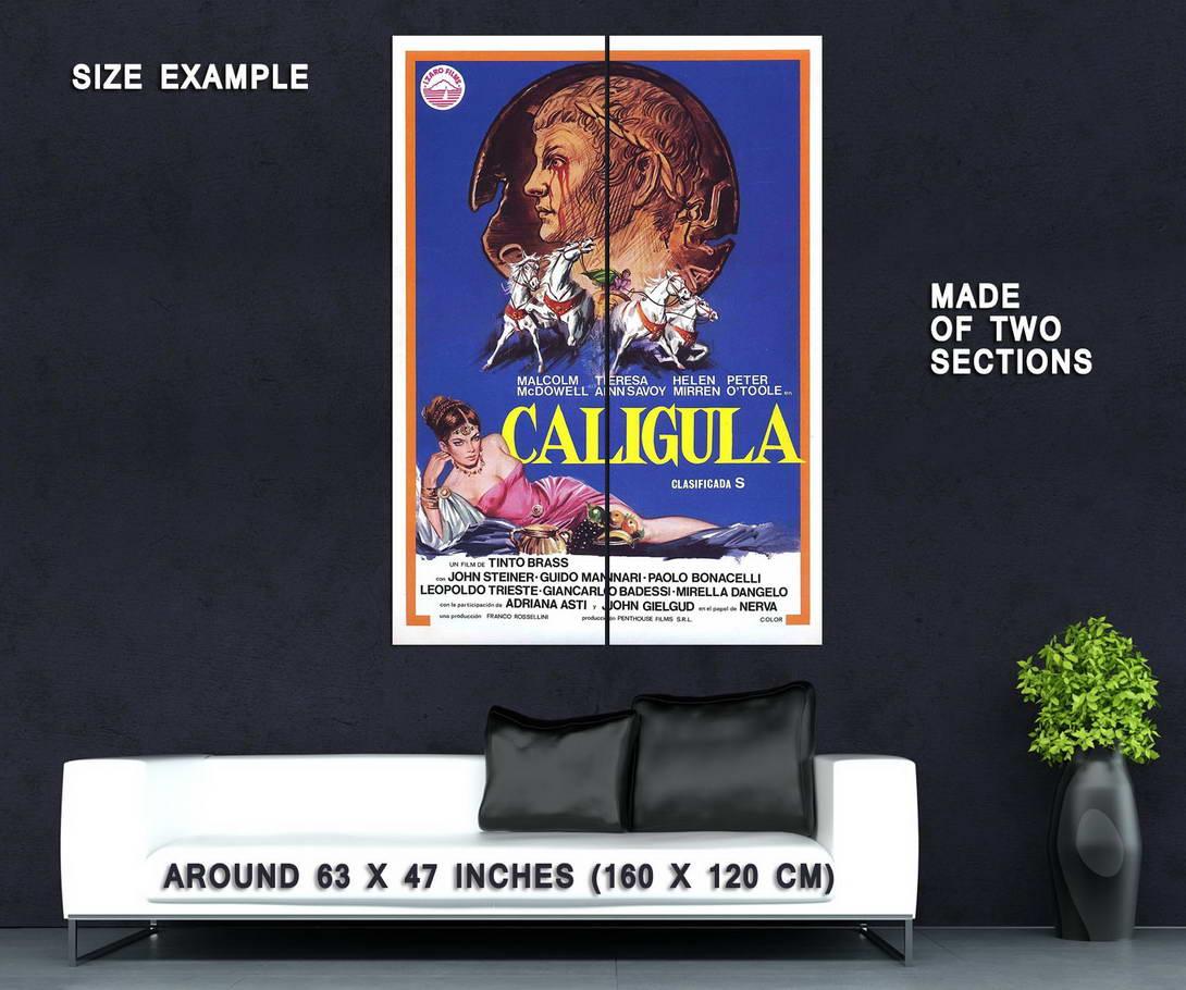 73279-CALIGULA-Erotica-Malcom-McDowell-Peter-O-Toole-Wall-Print-Poster-Affiche