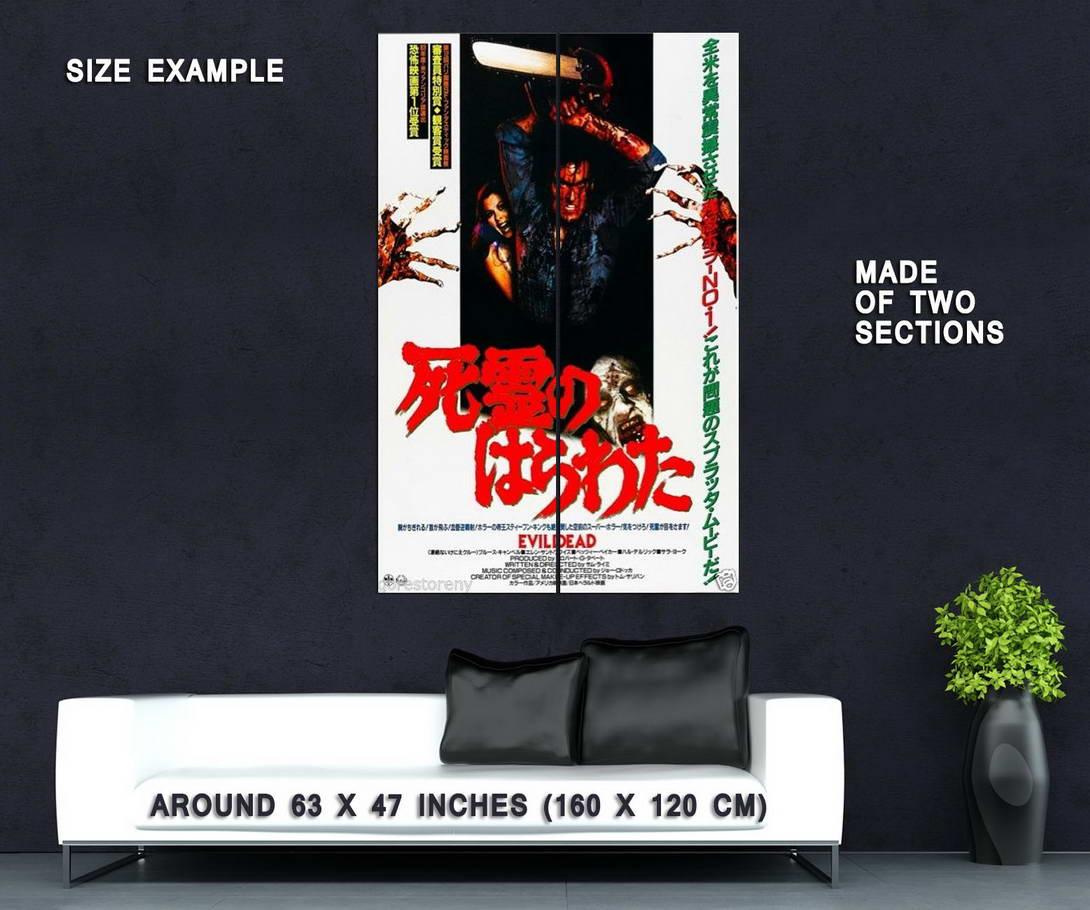 73320-EVIL-DEAD-II-2-Bruce-Campbell-Sam-Raimi-Ash-Wall-Print-Poster-Affiche