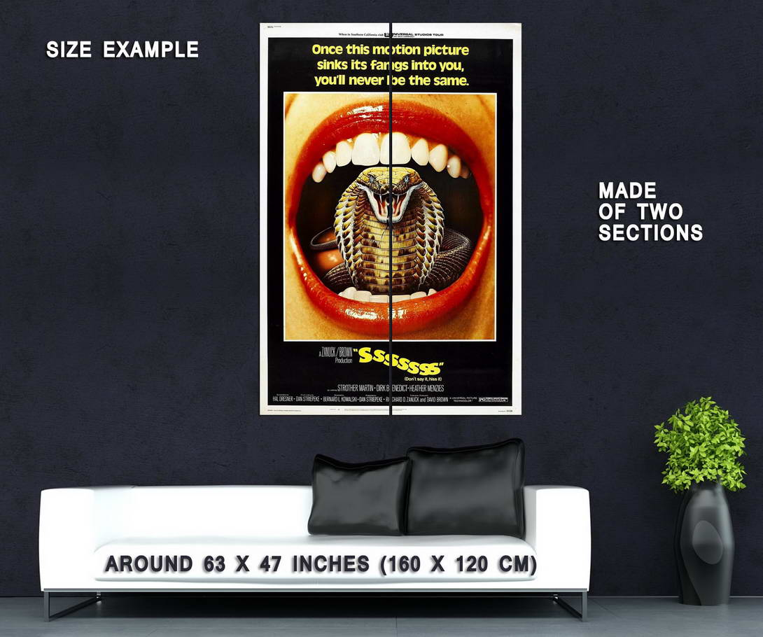 73471-Sssssss-Movie-1973-Horror-Sci-Fi-Wall-Print-Poster-Affiche