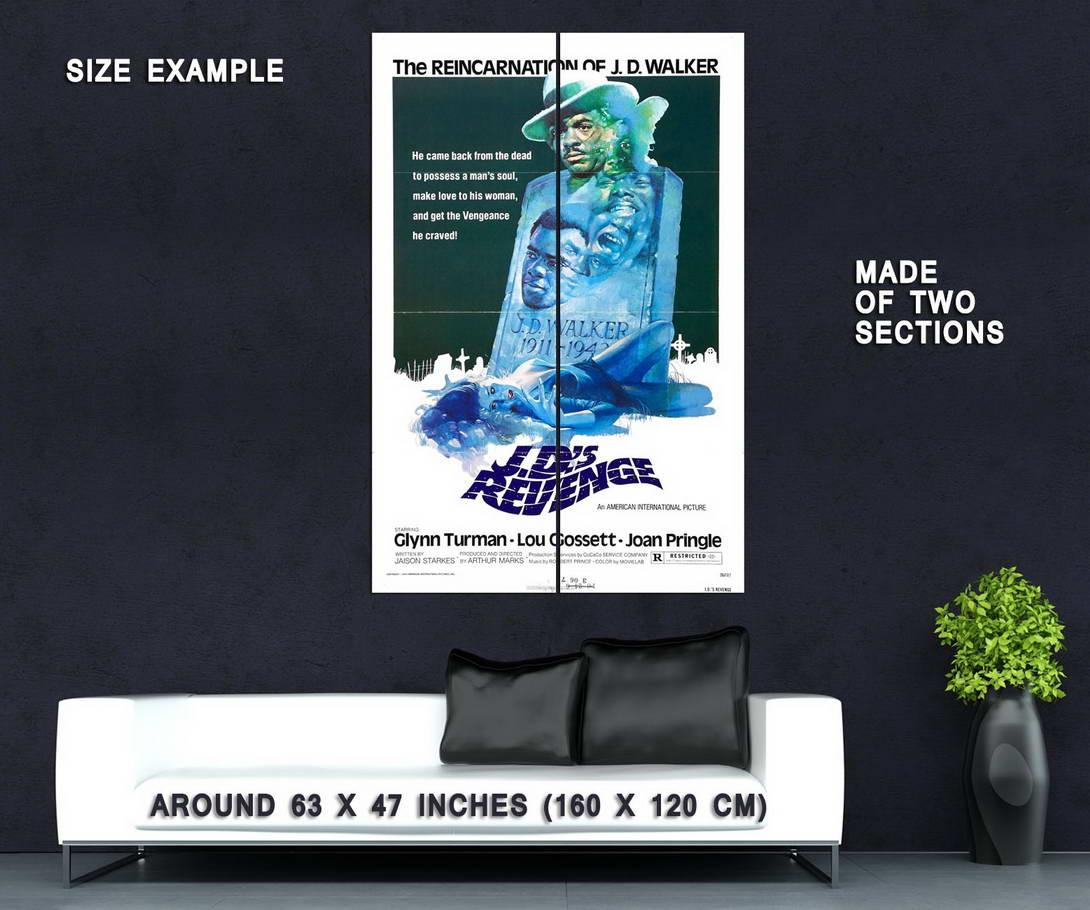 73538-J-D-039-s-Revenge-1976-Drama-Blaxploitation-Wall-Print-Poster-Affiche