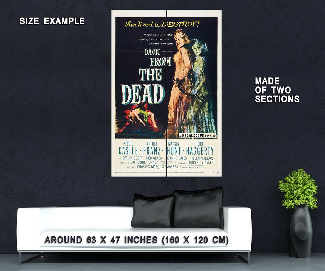 73556-Back-from-the-Dead-Movie-1957-Horror-Wall-Print-Poster-Affiche