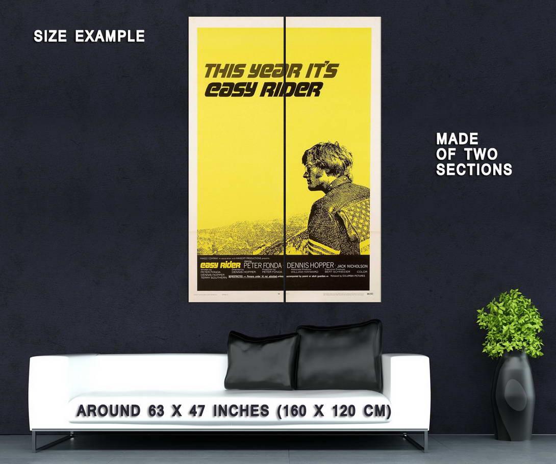 73592-EASY-RIDER-1969-Hells-Angels-Biker-Dennis-Hopper-Wall-Print-Poster-Affiche