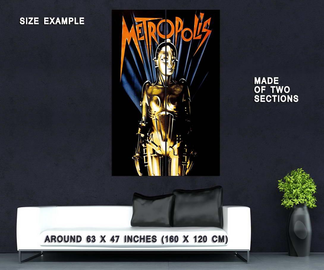 73700-METROPOLIS-Movie-Fritz-Lang-Sci-Fi-Classic-Wall-Print-Poster-Affiche