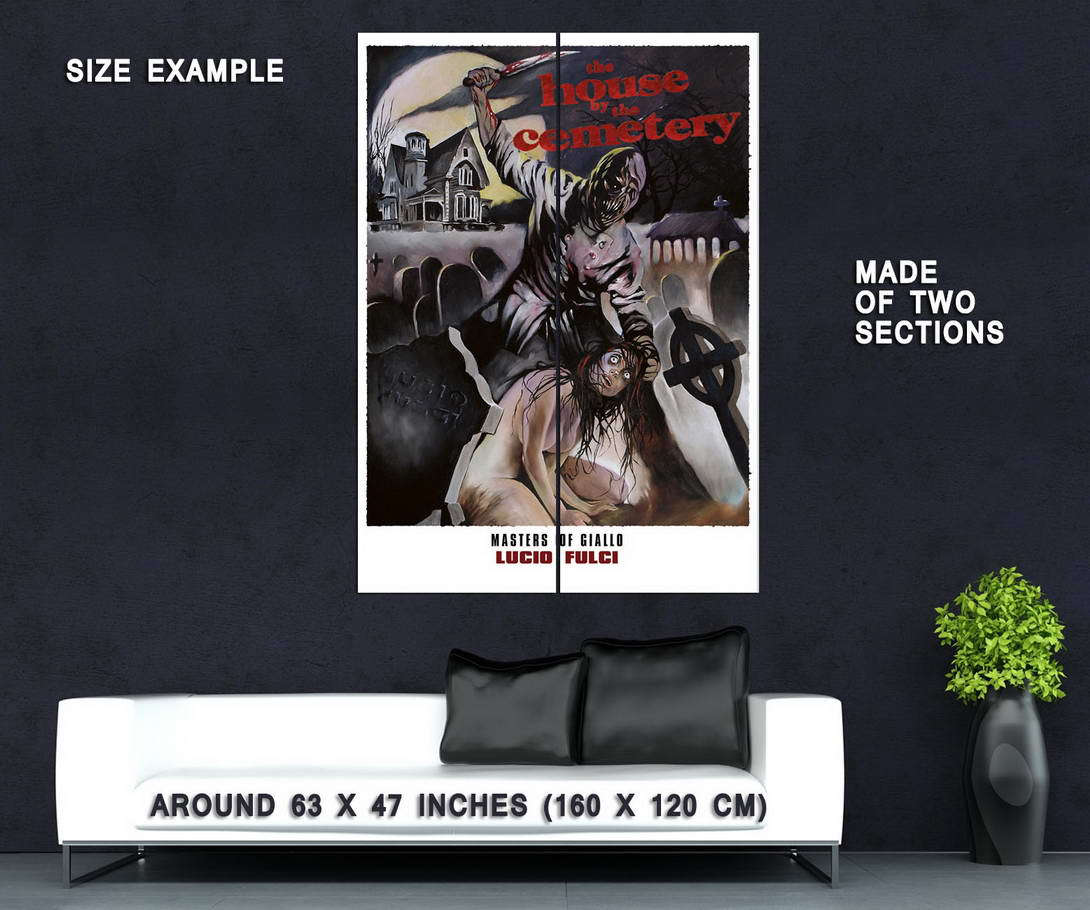 73710-THE-HOUSE-BY-THE-CEMETERY-Movie-1981-Lucio-Fulci-Wall-Print-Poster-Affiche