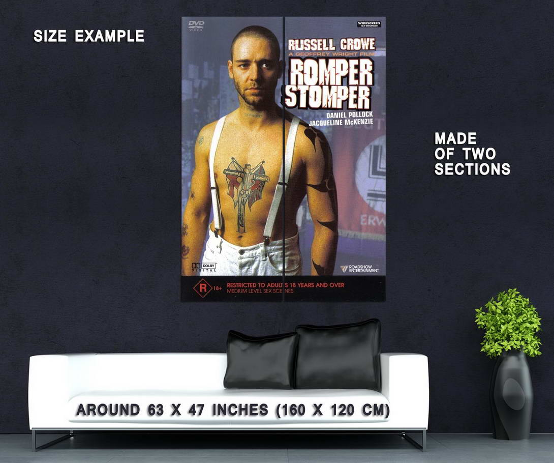 73828-ROMPER-STOMPER-Movie-Russell-Crowe-Skinhead-Punk-Wall-Print-Poster-Affiche