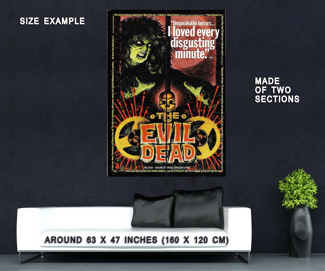73850-THE-EVIL-DEAD-Movie-RARE-Horror-Wall-Print-Poster-Affiche