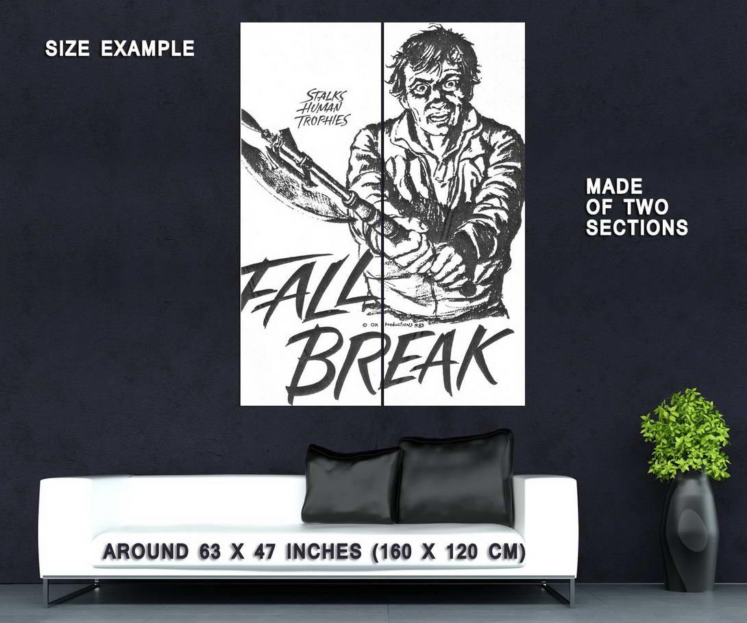 73851-FALL-BREAK-aka-MUTILATOR-Movie-RARE-Horror-Wall-Print-Poster-Affiche