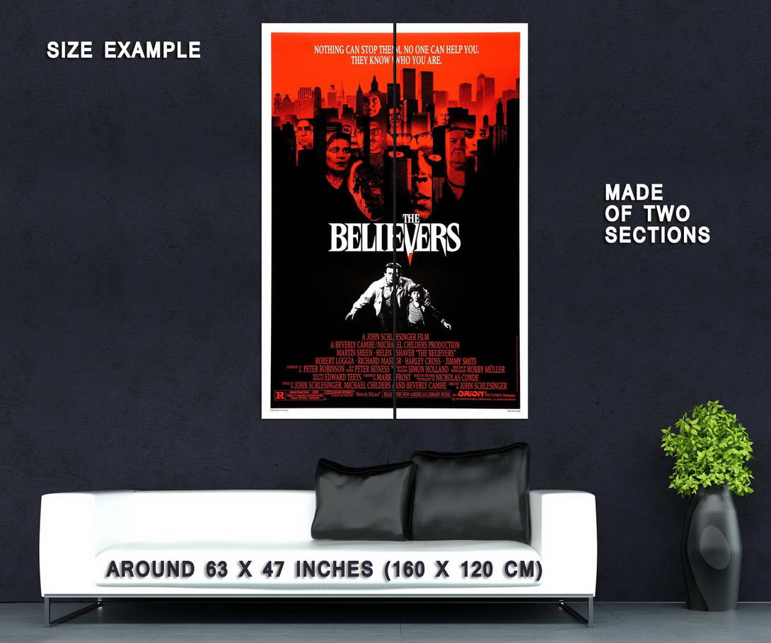 73868-The-Believers-Movie-1987-Slasher-Thriller-Wall-Print-Poster-Affiche
