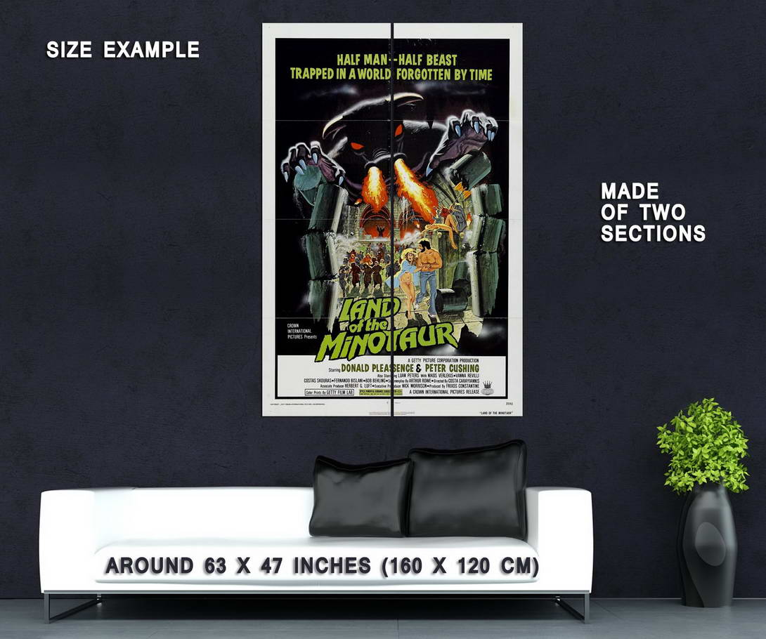 73890-Land-of-the-Minotaur-Movie-1976-Horror-Wall-Print-Poster-Affiche