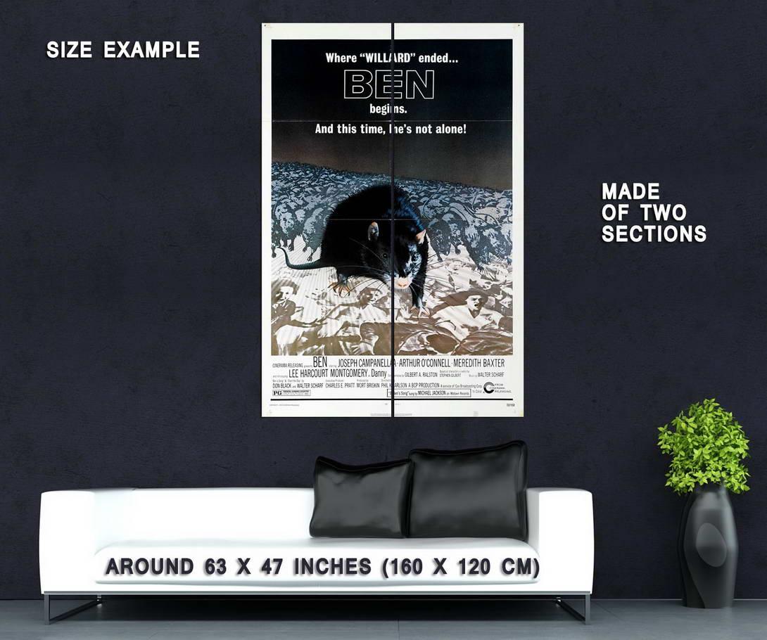 73922-Ben-Movie-1972-Thriller-Horror-Wall-Print-Poster-Affiche