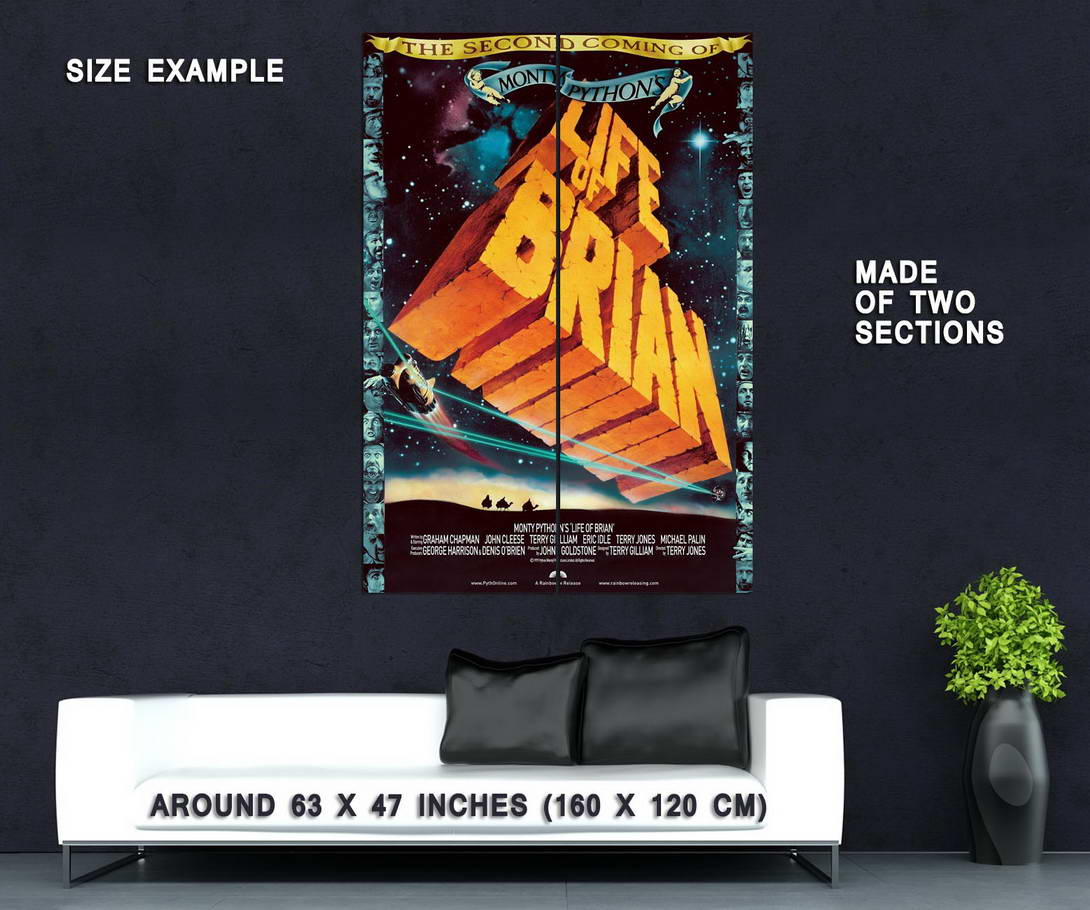 73924-Monty-Python-039-s-Life-of-Brian-Movie-1979-Comedy-Wall-Print-Poster-Affiche