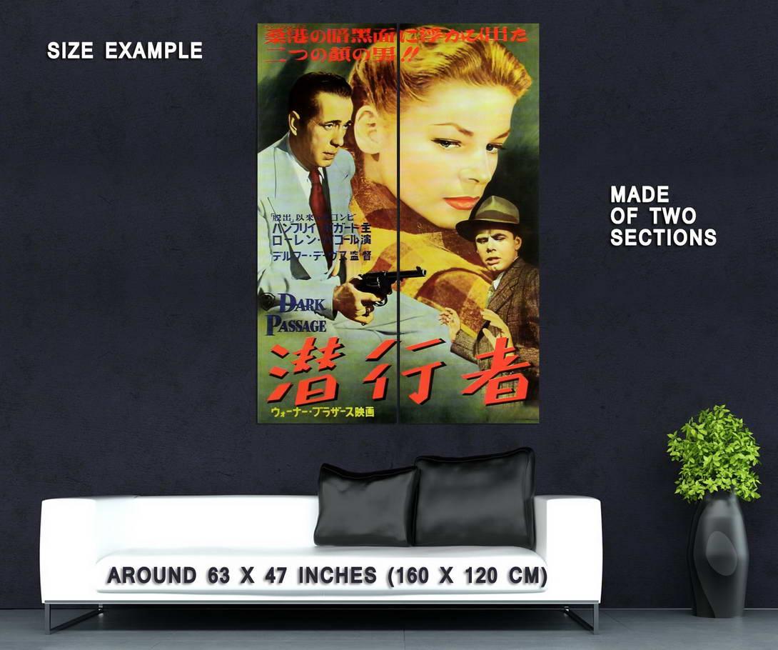 73948-Dark-Passage-Movie-1947-Thriller-Drama-Wall-Print-Poster-Affiche