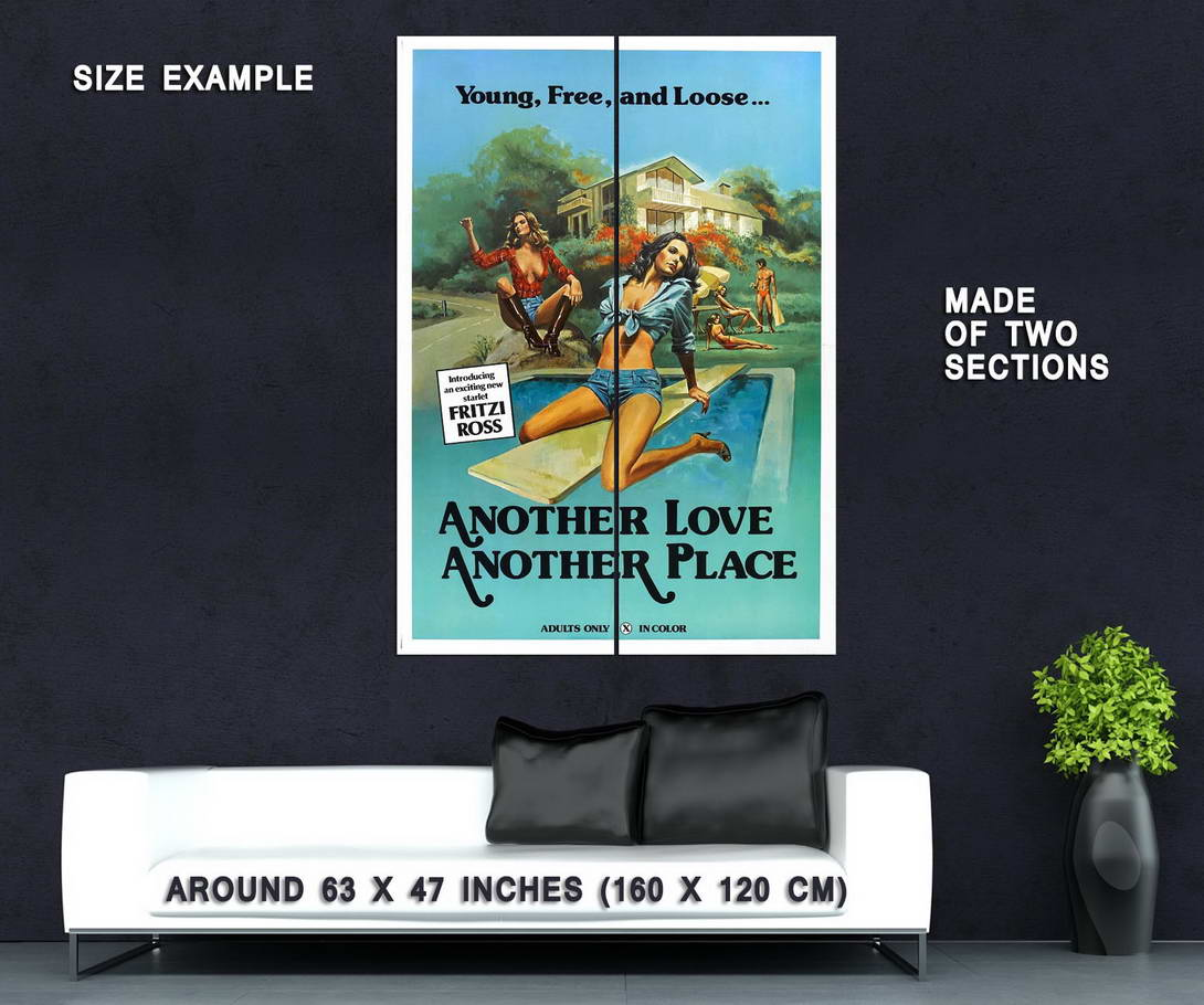 73975-Another-Love-Another-Place-1978-Amour-Adult-Wall-Print-Poster-Affiche