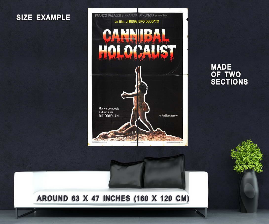73996-Cannibal-Holocaust-Movie-1980-Horror-Wall-Print-Poster-Affiche