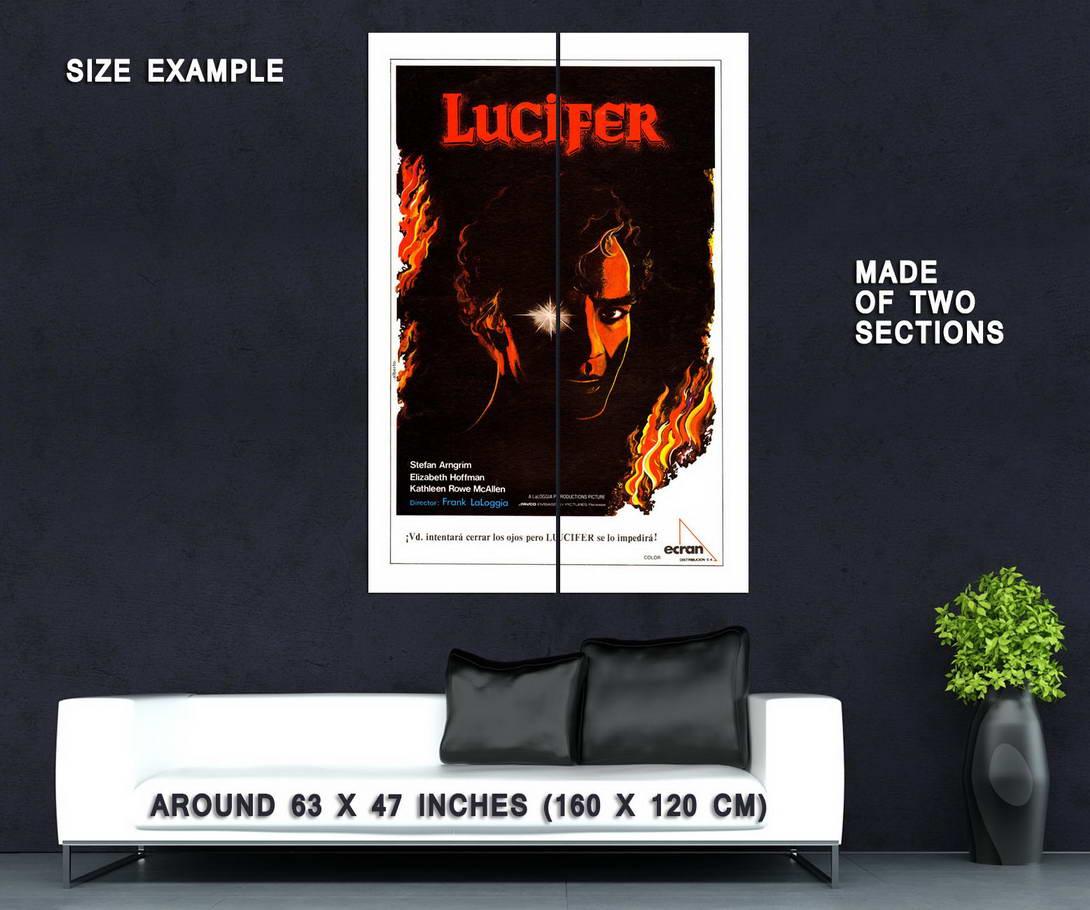 74042-FEAR-NO-EVIL-aka-LUCIFER-Movie-Horror-Classic-Wall-Print-Poster-Affiche