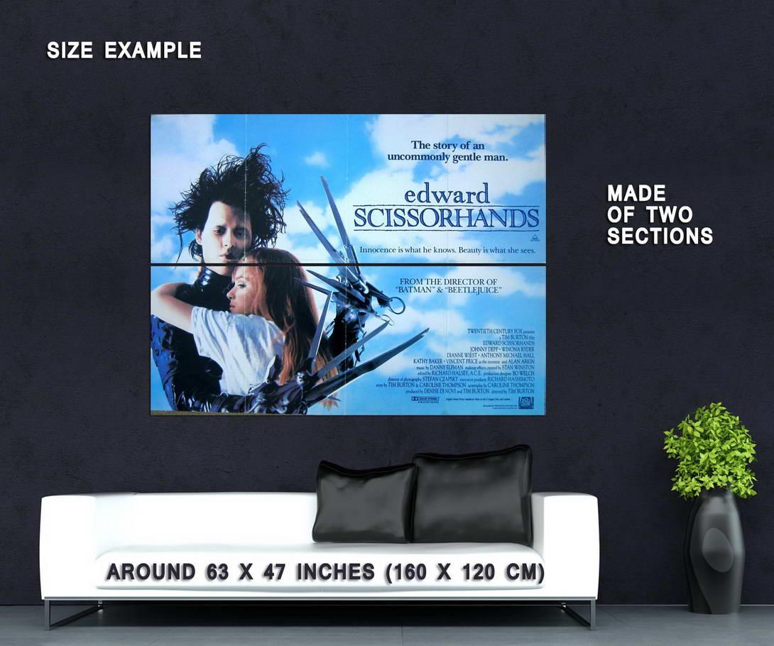 74102-EDWARD-SICSSORHANDS-Movie-Johnny-Depp-Tim-Burton-Wall-Print-Poster-Affiche