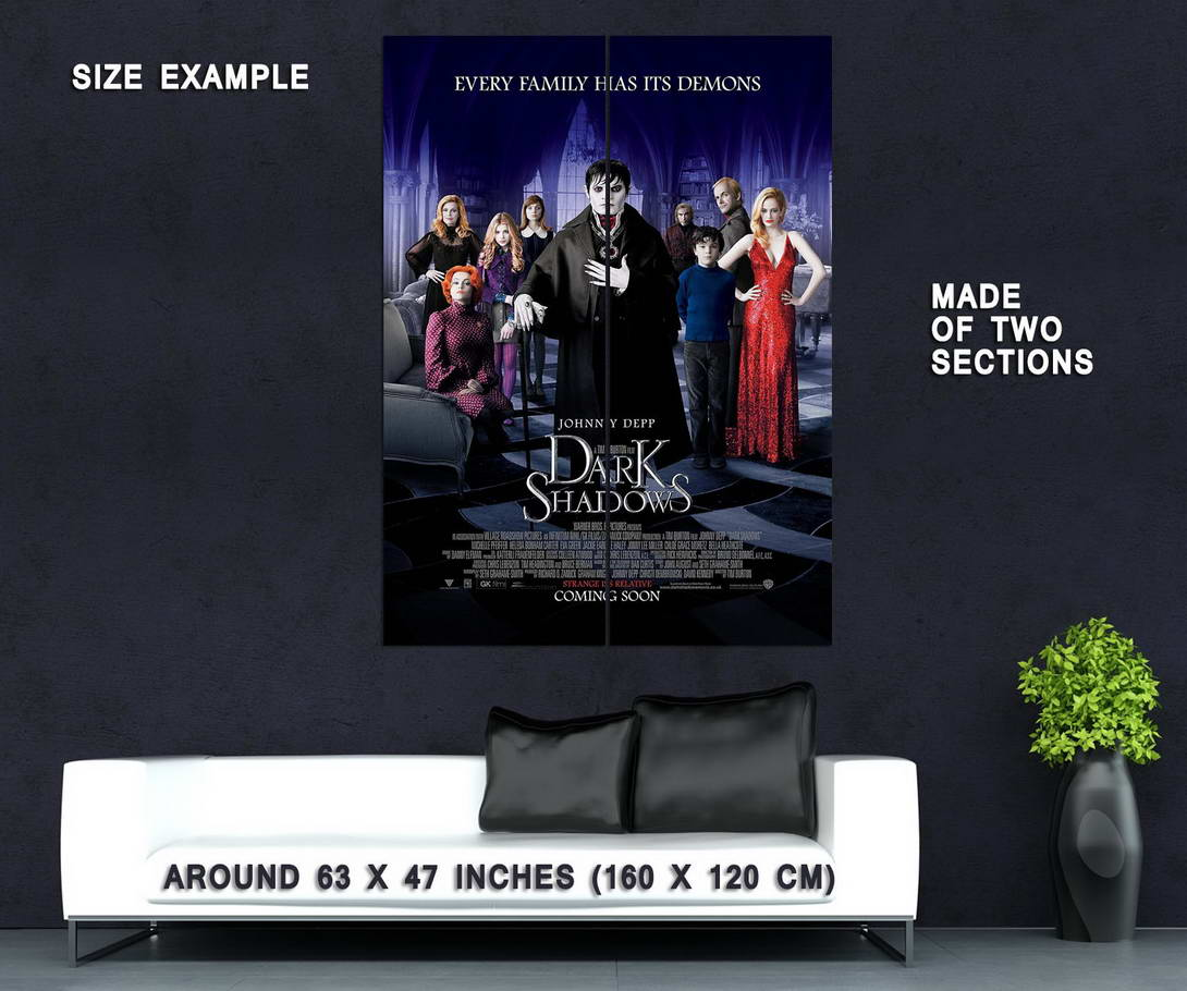 74179-DARK-SHADOWS-Movie-2012-Johnny-Depp-Wall-Print-Poster-Affiche