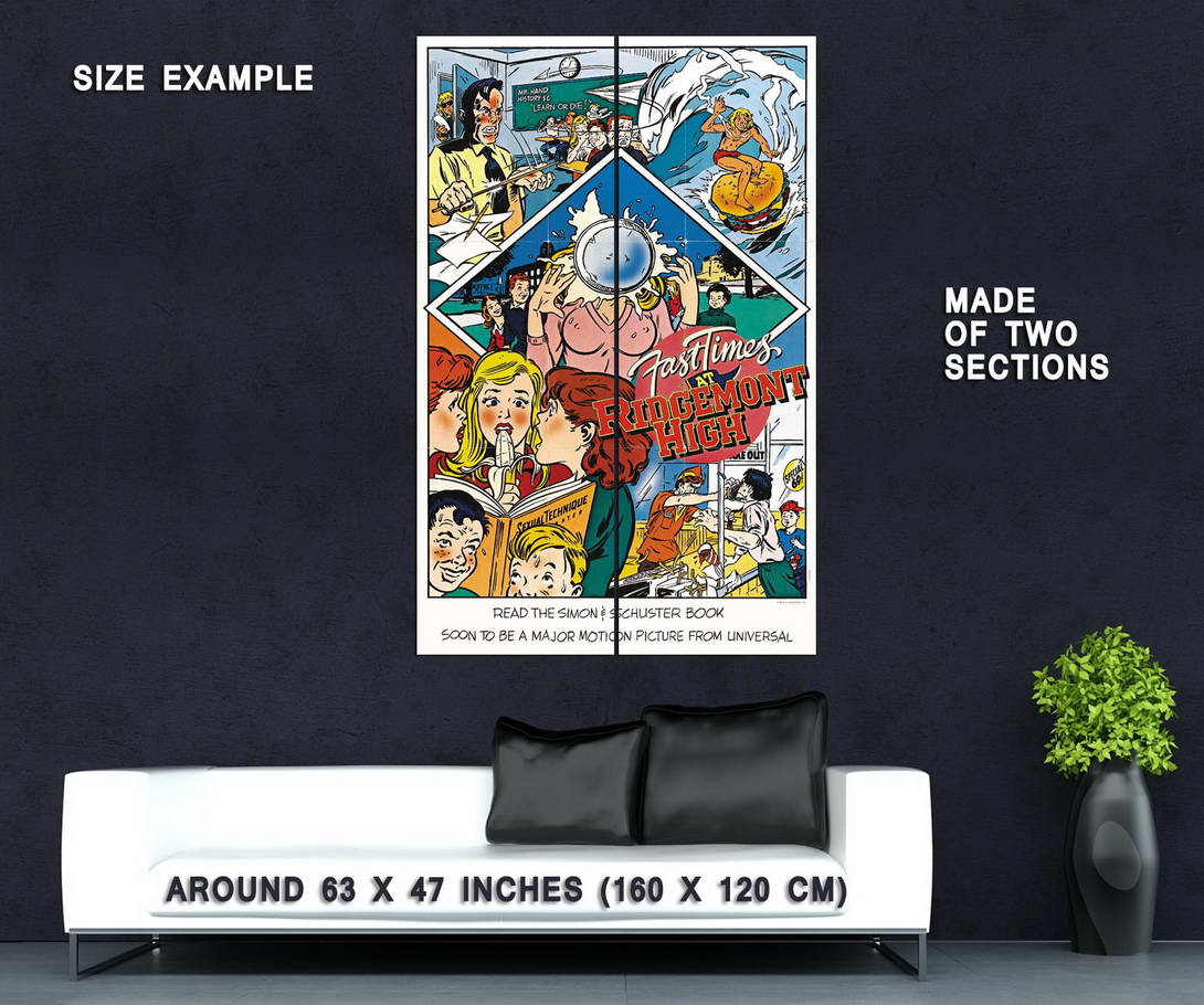 74185-FAST-TIMES-AT-RIDGEMONT-HIGH-Movie-Sean-Penn-Wall-Print-Poster-Affiche