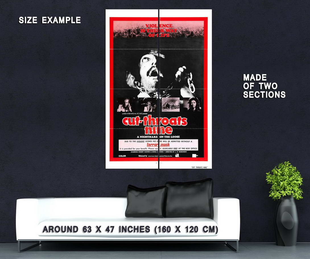 74209-CUT-THORATS-NINE-Movie-RARE-Horror-Wall-Print-Poster-Affiche