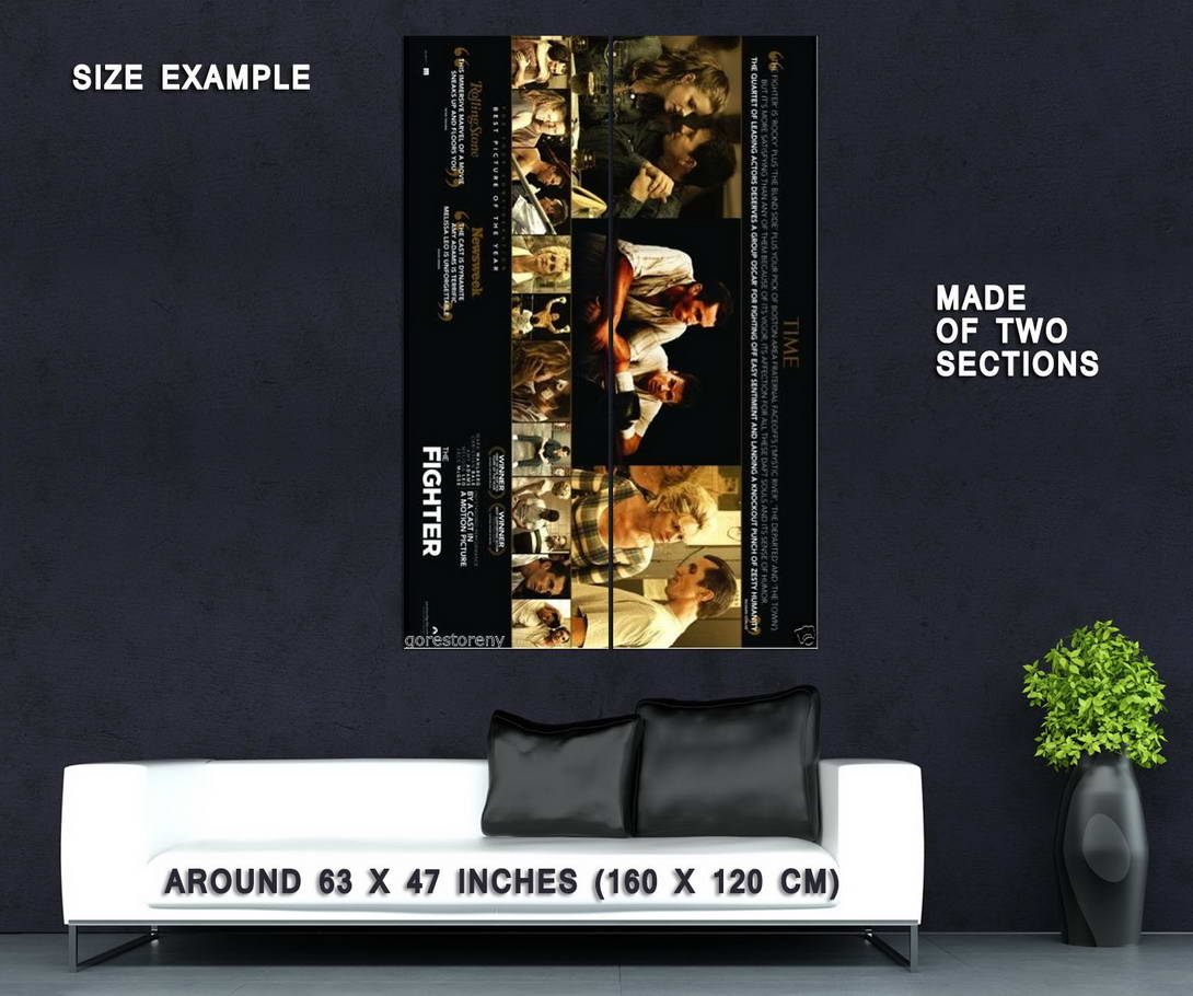 74232-THE-FIGHTER-Boxing-Christian-Bale-Mark-Wahlberg-Wall-Print-Poster-Affiche