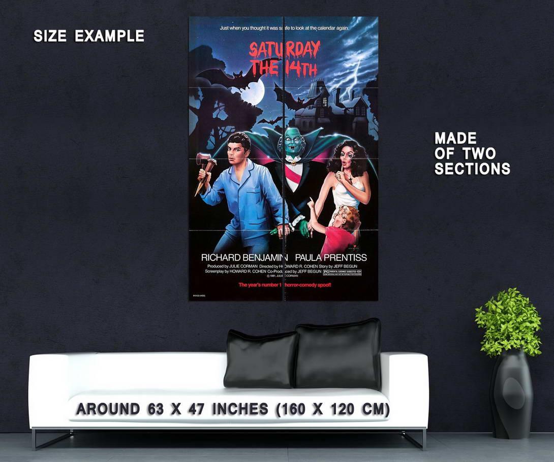 74313-Saturday-the-14th-1981-Farce-Classic-Movie-Wall-Print-Poster-Affiche
