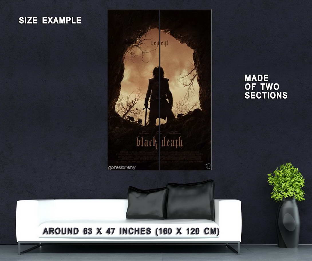 74389-BLACK-DEATH-Movie-Black-Plague-Game-of-Thrones-Wall-Print-Poster-Affiche