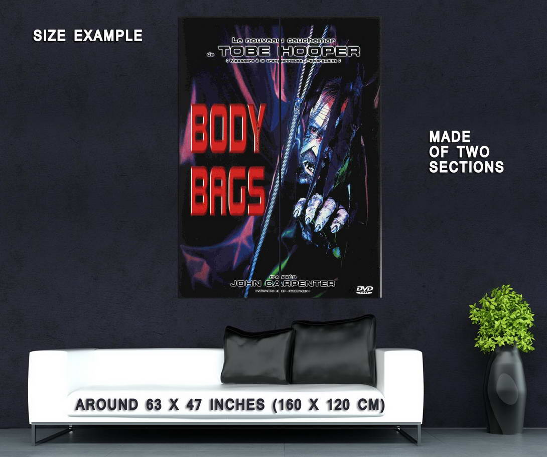 74399-BODY-BAGS-Movie-1993-John-Carpenter-Tobe-Hooper-Wall-Print-Poster-Affiche