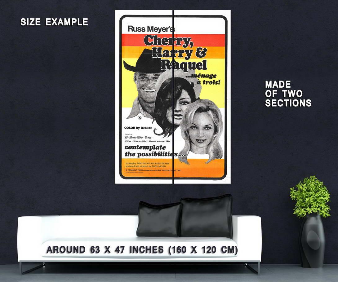 74404-CHERRY-HARRY-amp-RAQUEL-Movie-Russ-Meyer-Wall-Print-Poster-Affiche