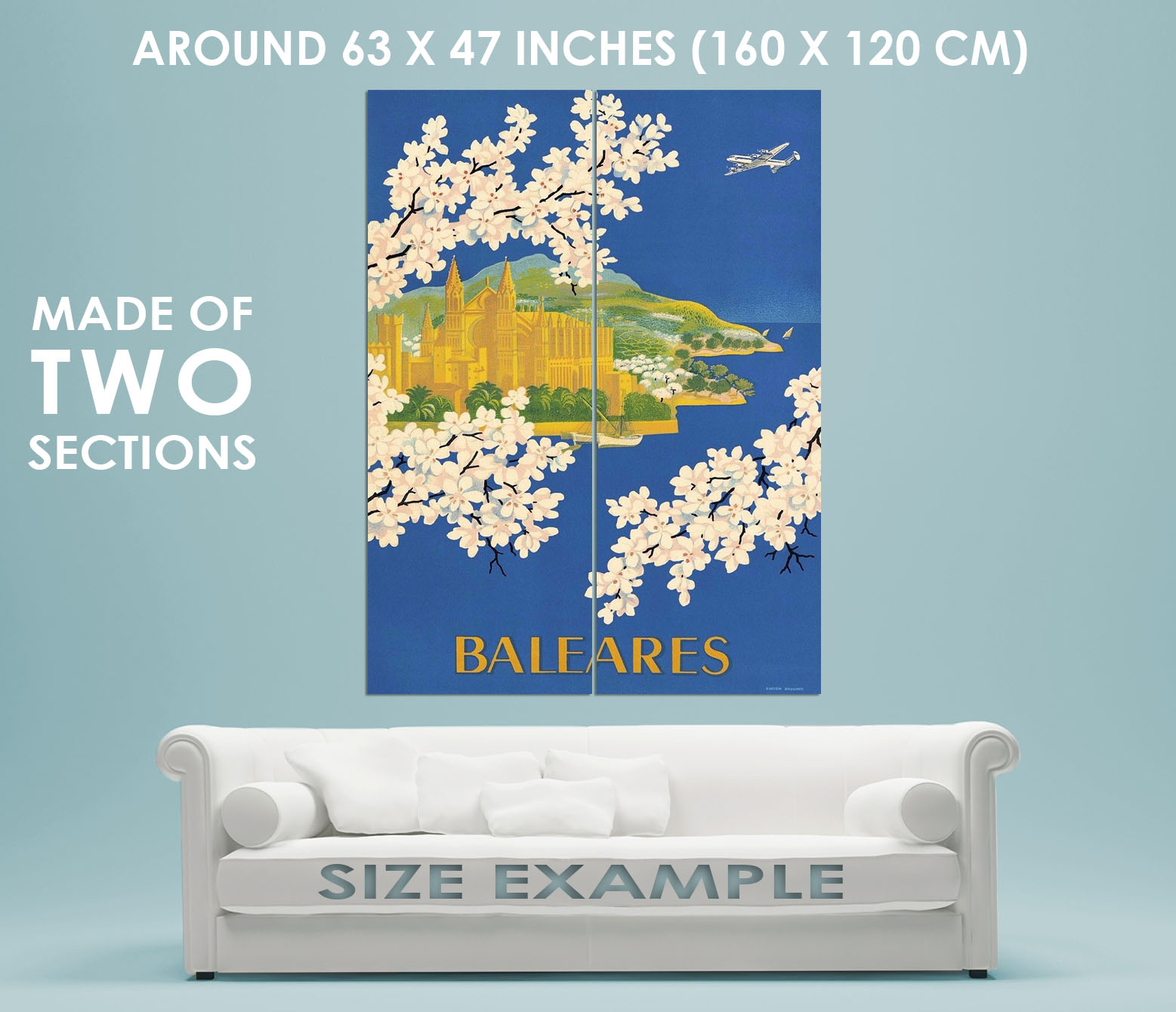 96694-Baleares-Balearic-Islands-Spain-Mallorca-Travel-Decor-WALL-PRINT-POSTER-FR