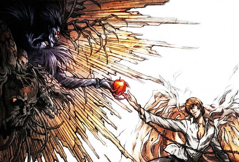 10296 Death Note Japanese Anime Poster Ryuuku Yagami Light