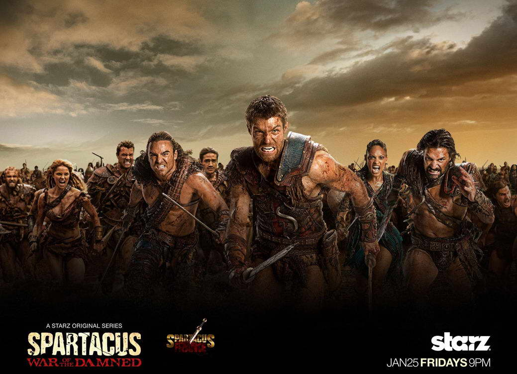Spartacus-Blood-and-Sand-TV-Wall-Print-POSTER-Decor-AFFICHE