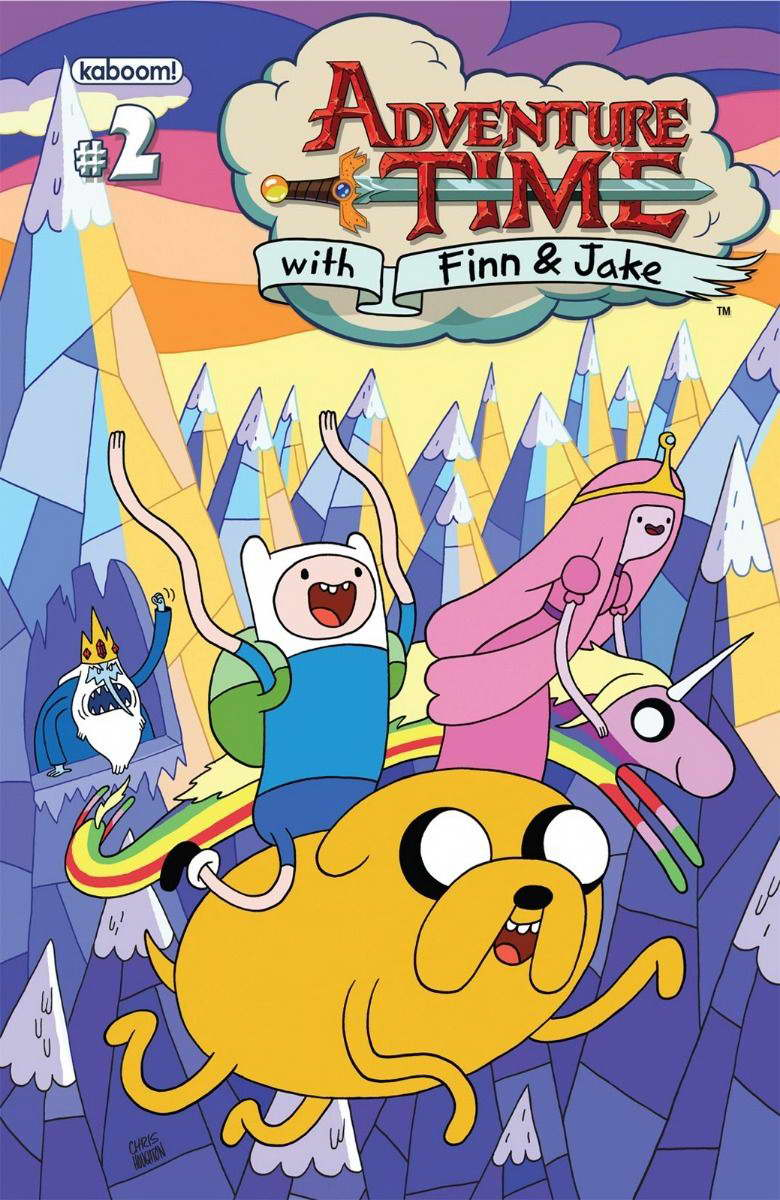 Adventure Time - With Finn & Jake TV Series Wall Print POSTER Decor ...