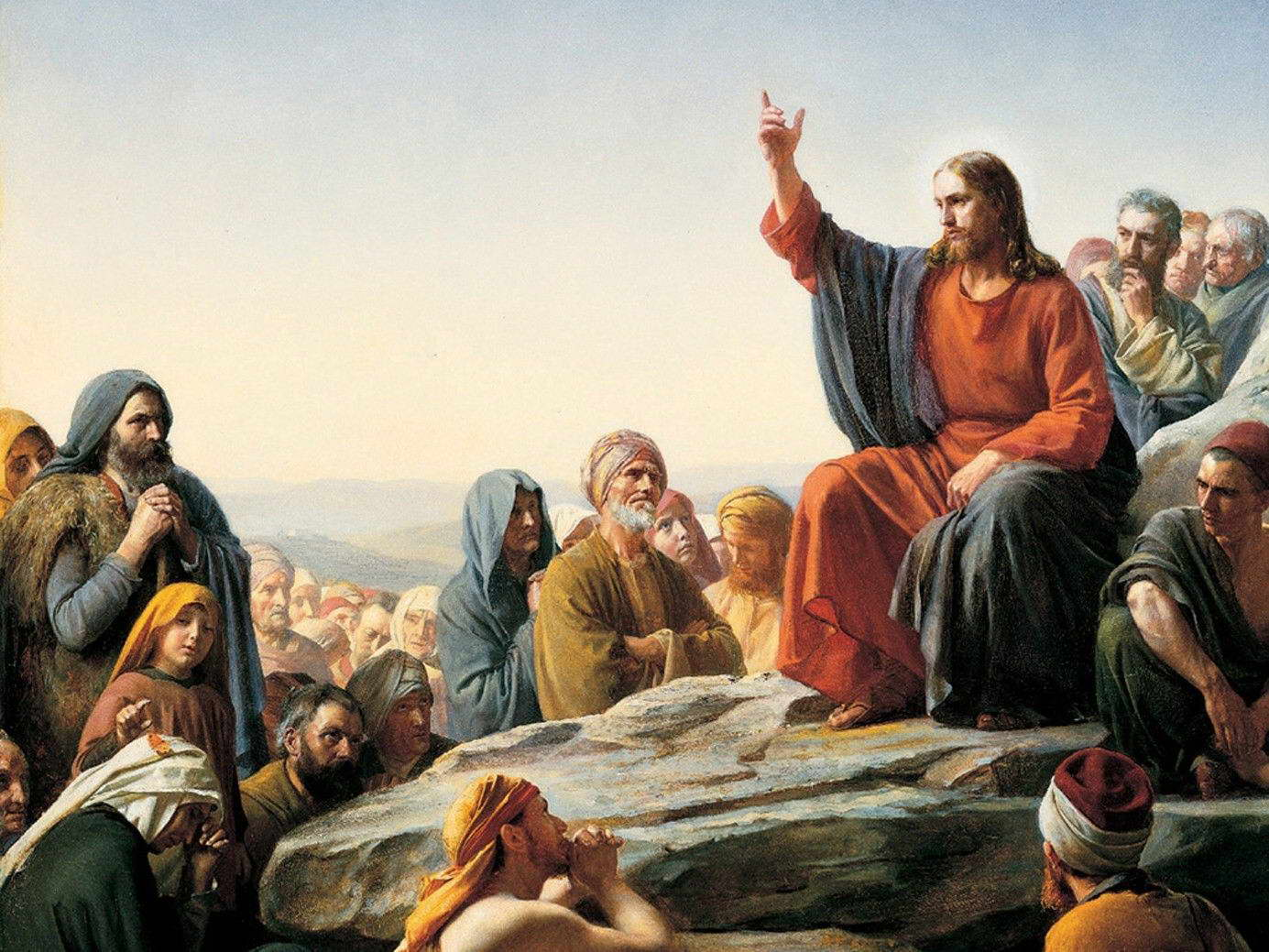 19614 Jesus Christ Lord Savior Wall Print POSTER CA