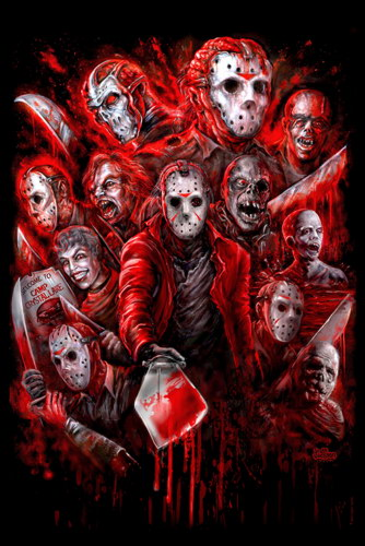 57796-4-Horror-Jason-Voorhees-Friday-the-13th-Wall-Print-Poster-Affiche