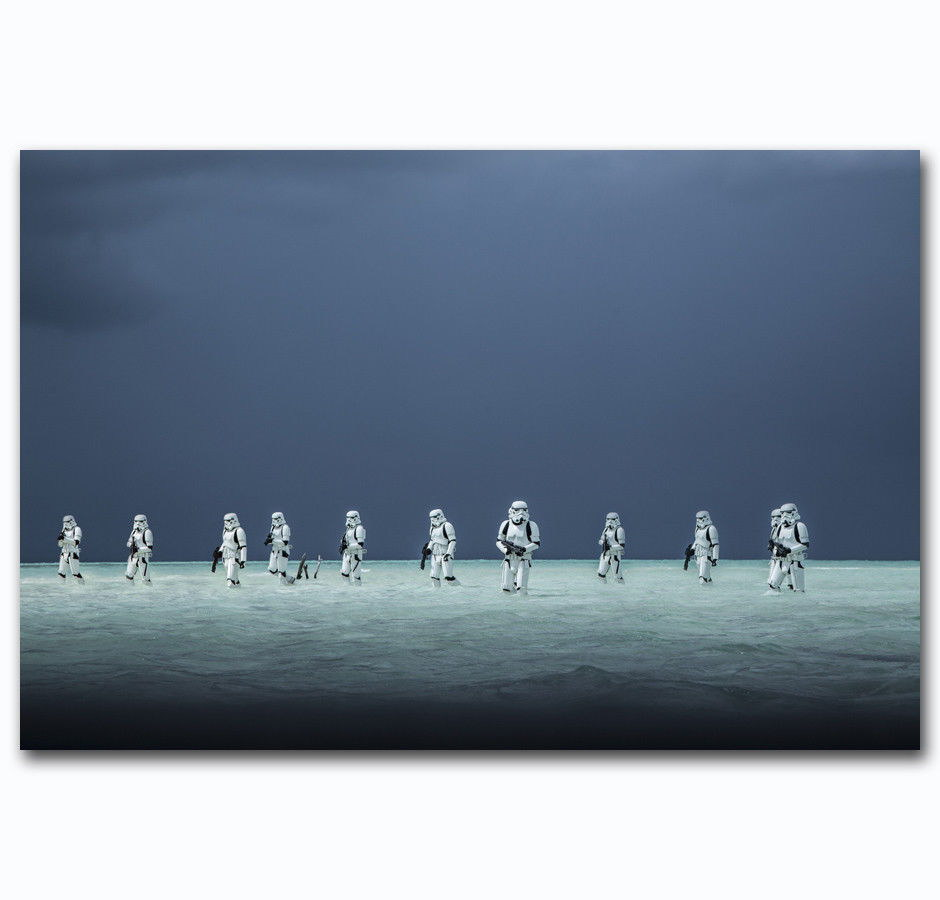 59081 2017 Rogue One A Star Wars Story Stormtrooper Decor Wall Print Poster