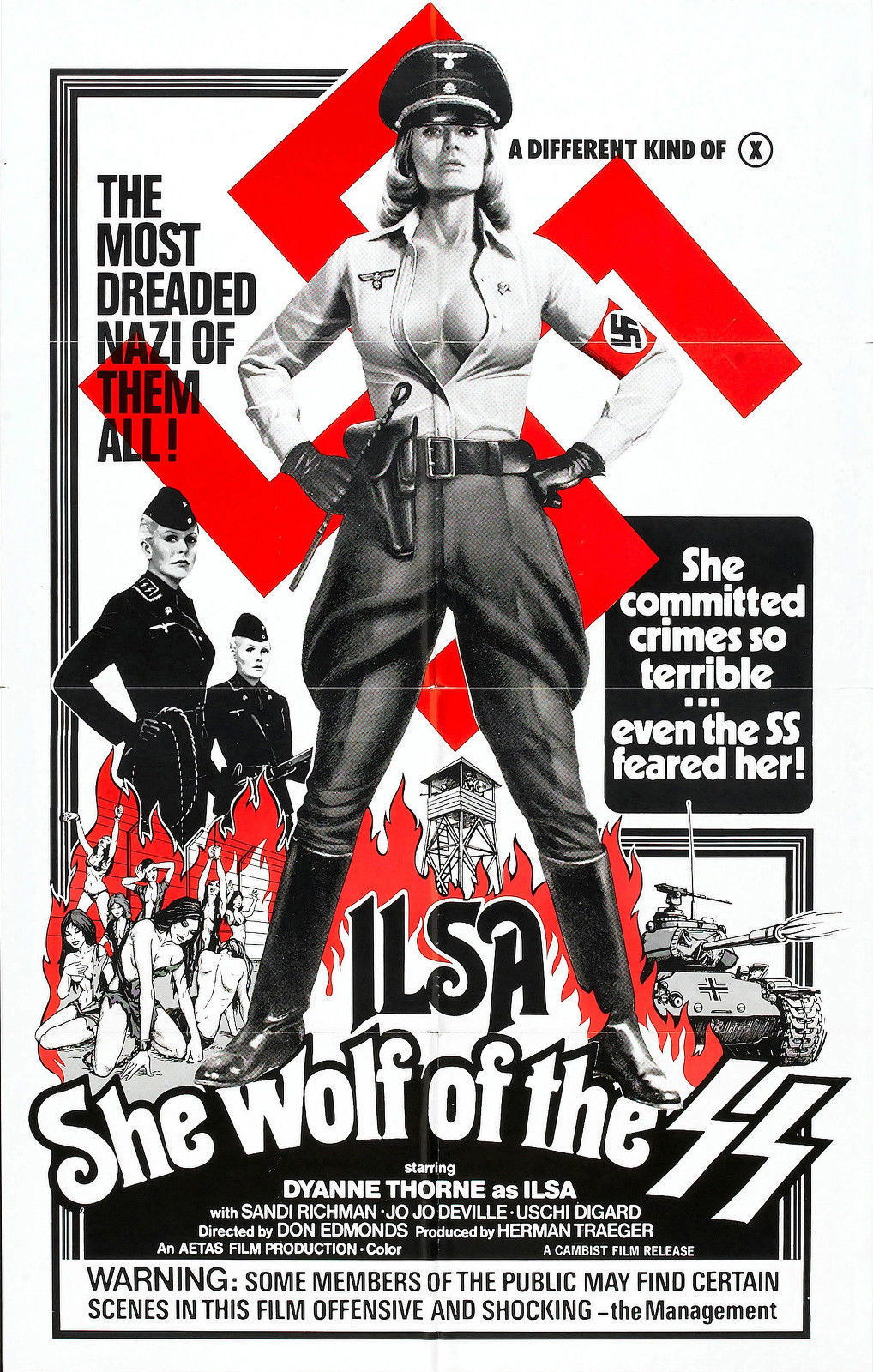 62455-ILSA-SHE-WOLF-OF-THE-SS-Wall-Print-Poster-Affiche