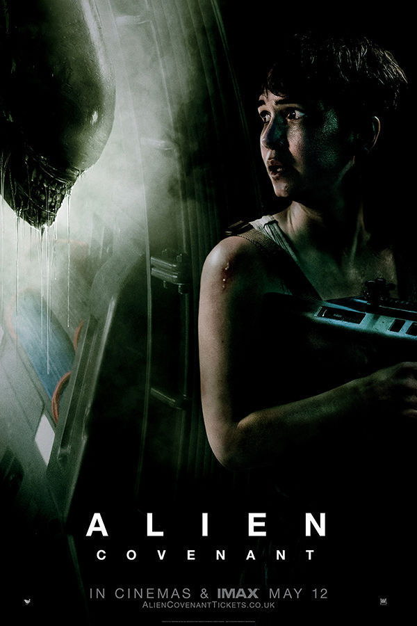 Covenant 2017 IMAX Wall Poster Print Affiche 64126 Alien