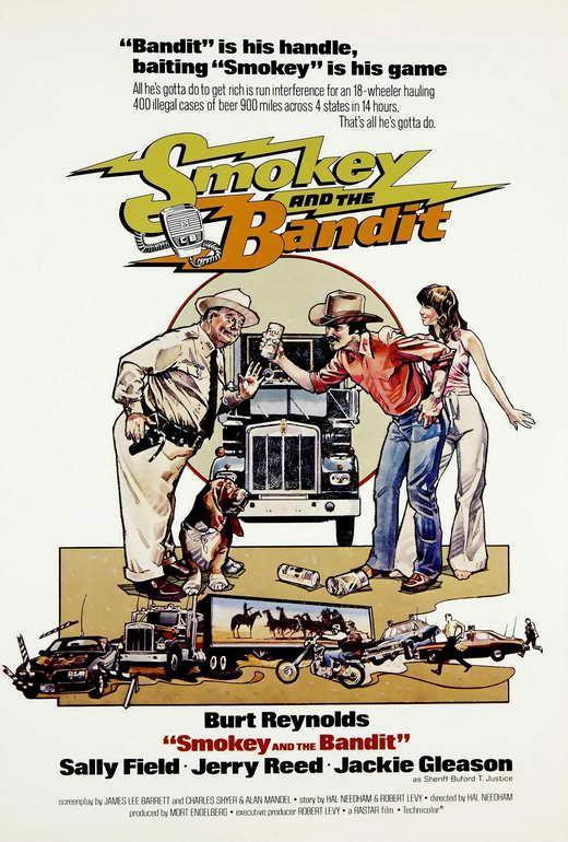 65957-Smokey-and-the-Bandit-Movie-Burt-Reynolds-Wall-Print-Poster-Affiche