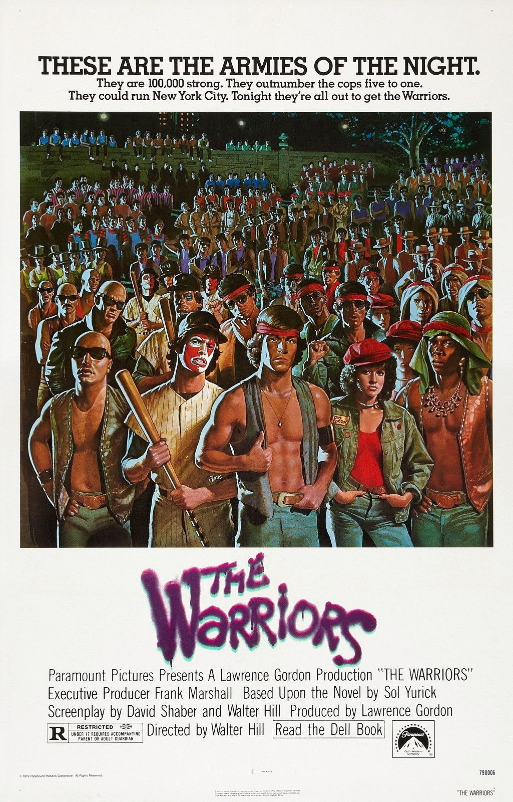72180-THE-WARRIORS-Movie-1979-Cult-Film-NYC-Wall-Print-Poster-Affiche