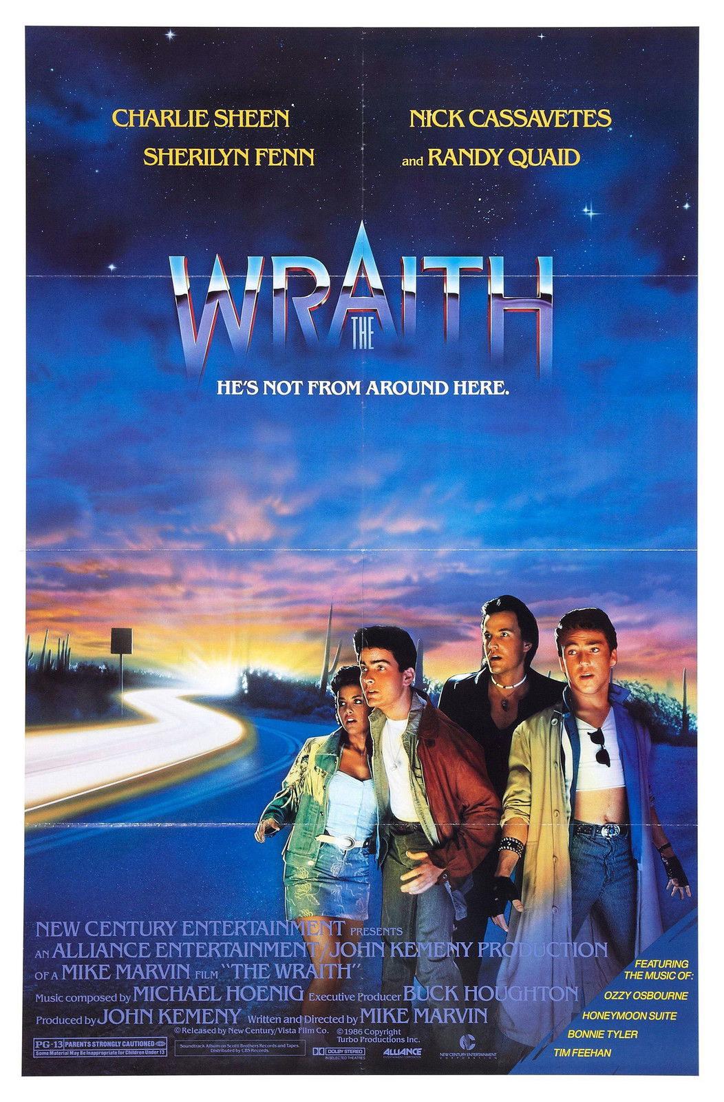 72477 WRAITH Movie RARE Horror Sci-Fi Wall Print Poster Affiche